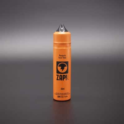 eliquid-zap-peach-ice-tea from wildfire vape